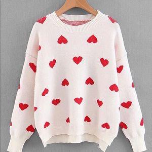 Sweaters - Heart Sweater